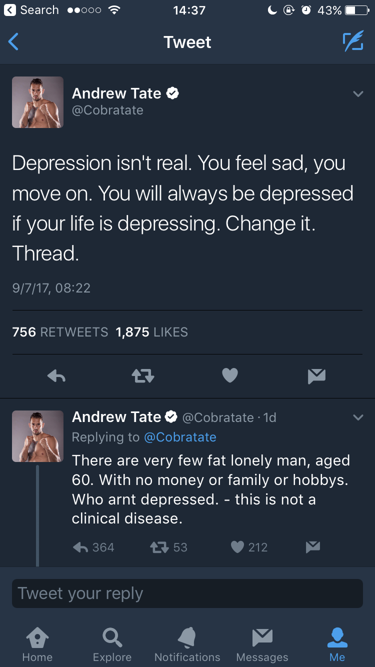 how is depression real